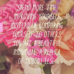 spend more time on yourself