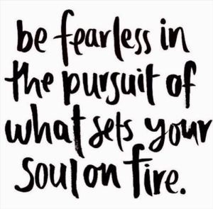 fearless in pursuit