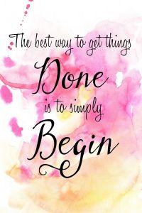 simply begin